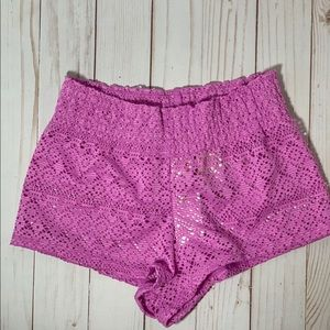 Cat and Jack Girls Purple Shorts Size Small